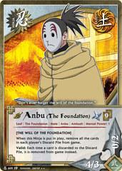 Anbu (The Foundation) - N-609 - Rare - 1st Edition - Foil