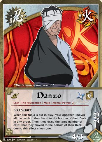 Danzo - N-600 - Rare - Unlimited Edition - Foil