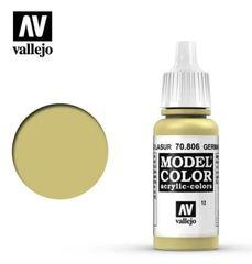 VAL70806 Vallejo Model Color German Yellow 17ml (012)