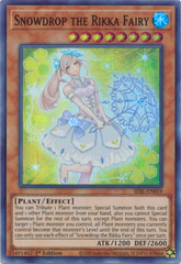 Snowdrop the Rikka Fairy - SESL-EN019 - Super Rare - 1st Edition