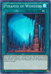 Pyramid of Wonders - SESL-EN057 - Super Rare - 1st Edition