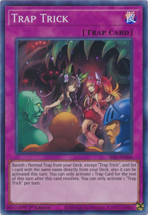 Trap Trick - SESL-EN060 - Super Rare - 1st Edition