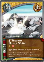 8 Trigrams Hazan Strike - J-579 - Common - 1st Edition - Foil