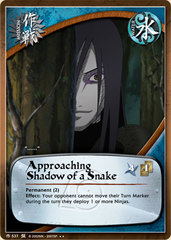 Approaching Shadow of a Snake - M-537 - Rare - 1st Edition - Foil