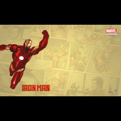 Marvel Champions LCG: Iron Man Game Mat