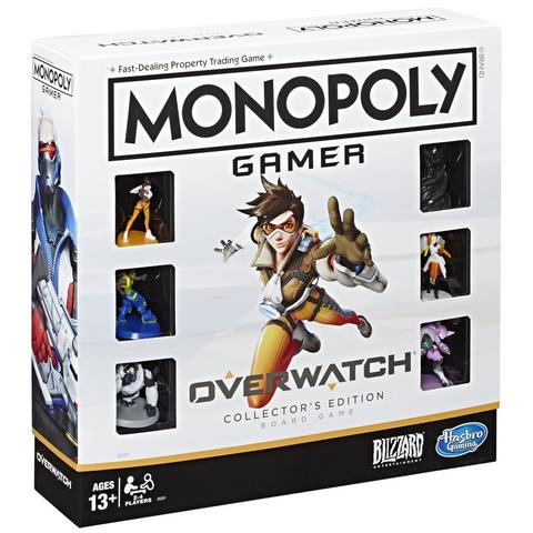 Monopoly Gamer Overwatch Collectors Edition Board Game