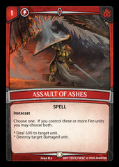 Assault of Ashes