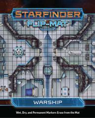 7312 Starfinder Flip-Mat Warship