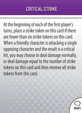 Critical Strike (BF001)