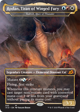 Rodan, Titan of Winged Fury - Vadrok, Apex of Thunder