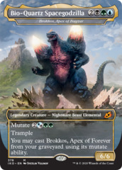 Brokkos, Apex of Forever - Bio-Quartz Spacegodzilla - Godzilla Series