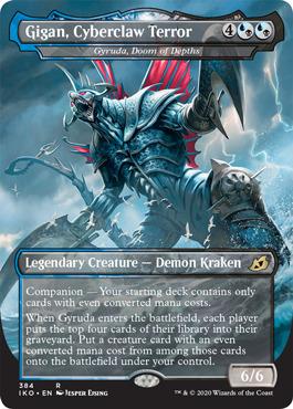 Gigan, Cyberclaw Terror - Gyruda, Doom of Depths - Foil