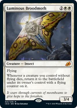 Luminous Broodmoth - Foil