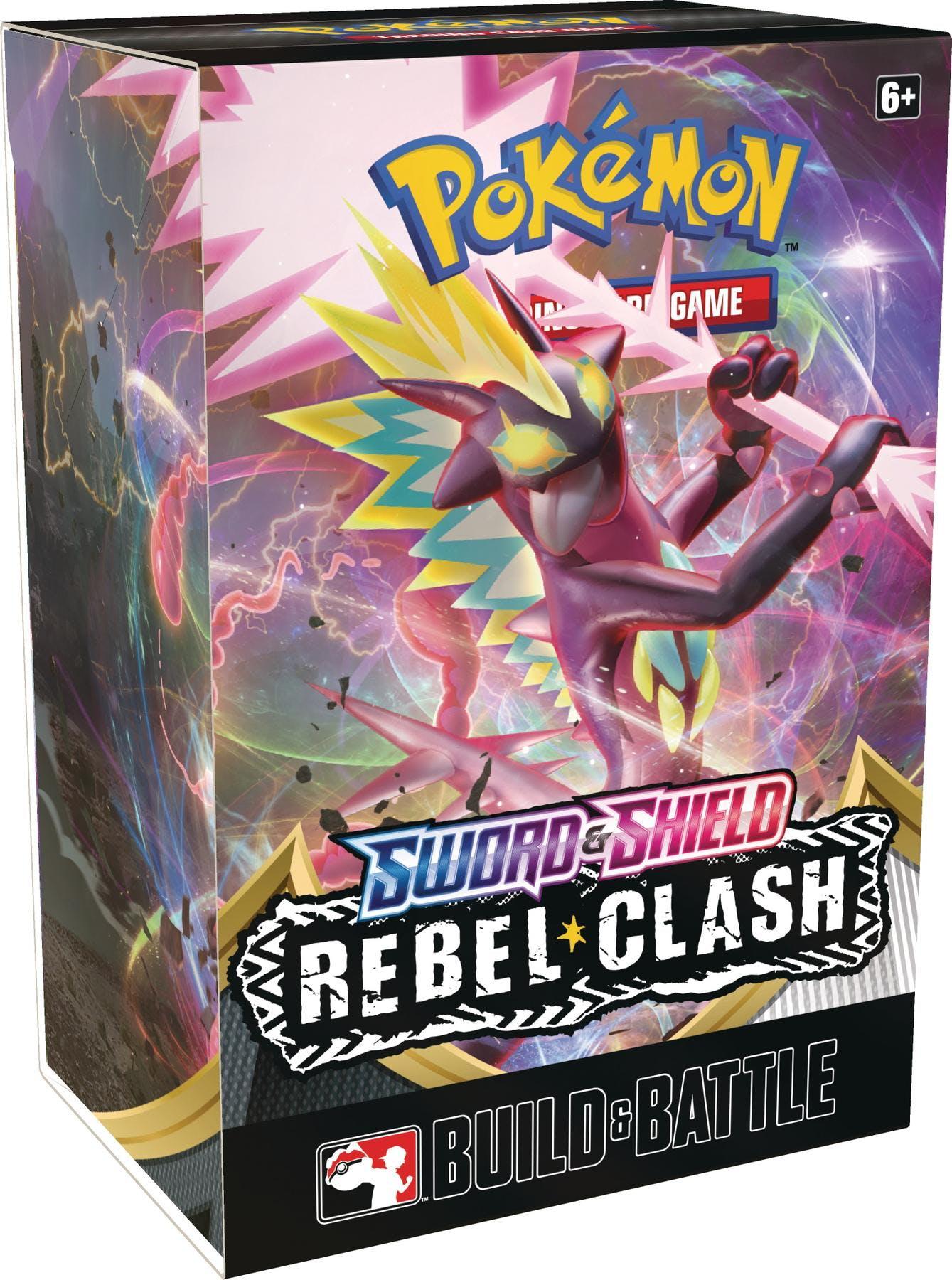 Sword & Shield - Rebel Clash Build and Battle Box