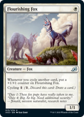 Flourishing Fox - Foil
