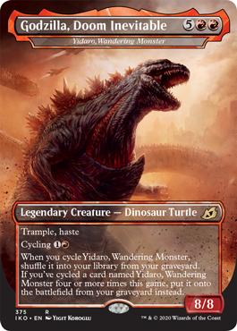 Godzilla, Doom Inevitable - Yidaro, Wandering Monster - Foil