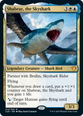 Shabraz, the Skyshark - Foil