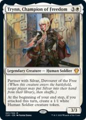 Trynn, Champion of Freedom - Foil