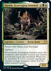 Yannik, Scavenging Sentinel - Foil
