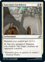 Sanctuary Lockdown - Foil