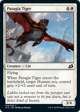Patagia Tiger - Foil