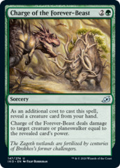Charge of the Forever-Beast - Foil
