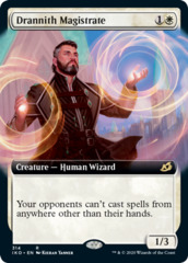 Drannith Magistrate - Foil - Extended Art