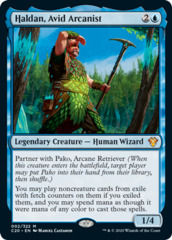 Haldan, Avid Arcanist - Collector Pack Exclusive