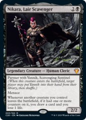 Nikara, Lair Scavenger - Collector Pack Exclusive