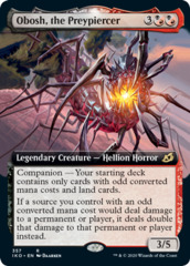 Obosh, the Preypiercer - Extended Art