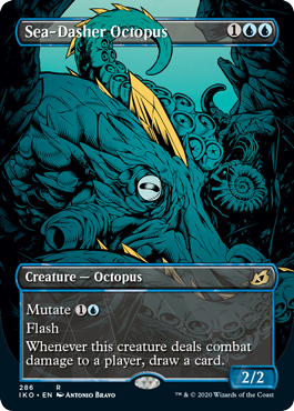 Sea-Dasher Octopus - Foil - Showcase