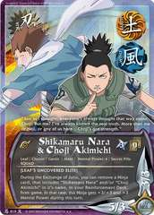 Shikamaru Nara & Choji Akimichi - N-819 - Rare - 1st Edition - Foil