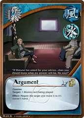 Argument - M-639 - Uncommon - 1st Edition - Foil