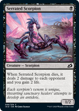 Serrated Scorpion