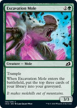 Excavation Mole