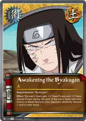 Awakening the Byakugan - J-712 - Uncommon - Unlimited Edition