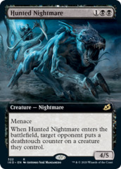 Hunted Nightmare - Foil - Extended Art