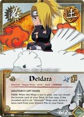 Deidara - N-1010 - Uncommon - Unlimited Edition - Foil