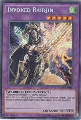 Invoked Raidjin - FUEN-EN028 - Secret Rare - Unlimited Edition