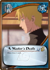 A Master's Death - M-843 -  - Unlimited Edition - Foil