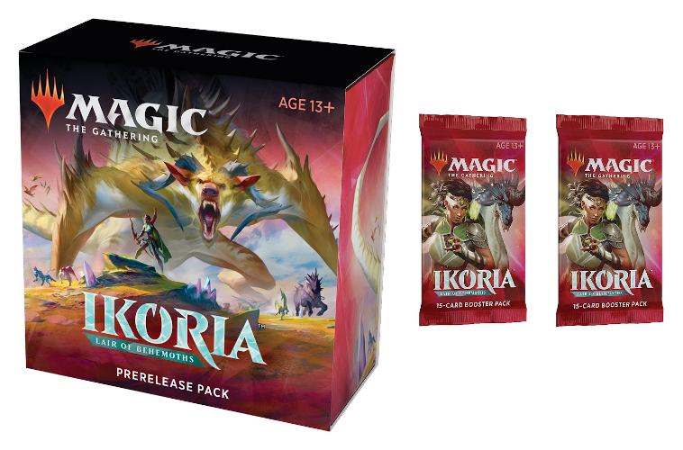Ikoria: Lair of Behemoths Prerelease Pack + 2 Ikoria Prize Boosters