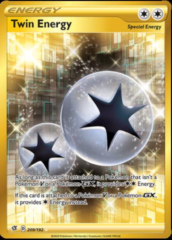 Twin Energy - 209/192 - Secret Rare