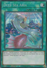 Deep Sea Aria - ETCO-EN061 - Secret Rare - 1st Edition