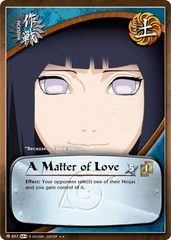 A Matter of Love - M-857 - Rare - Unlimited Edition - Foil