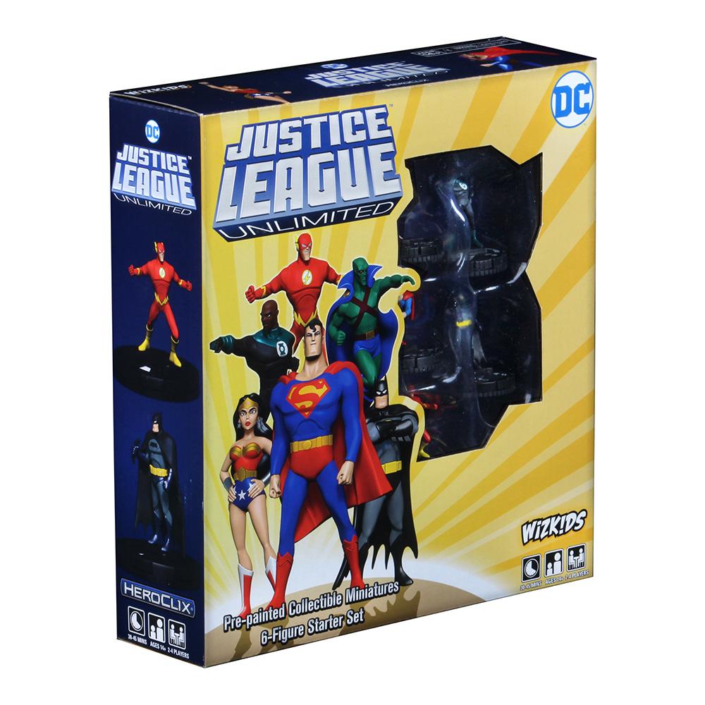 DC Heroclix Justice League Unlimited Starter Set