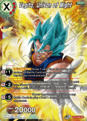 Vegito, Unison of Might - BT10-003 - SR