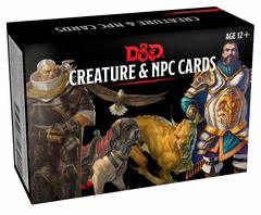 Dungeons and Dragons RPG: Creature & NPC Cards