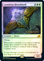 Luminous Broodmoth - Foil - Prerelease Promo