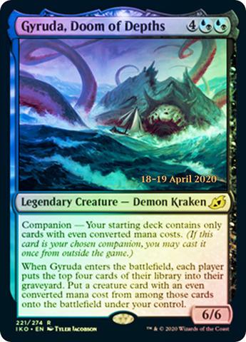 Gyruda, Doom of Depths - Foil - Prerelease Promo