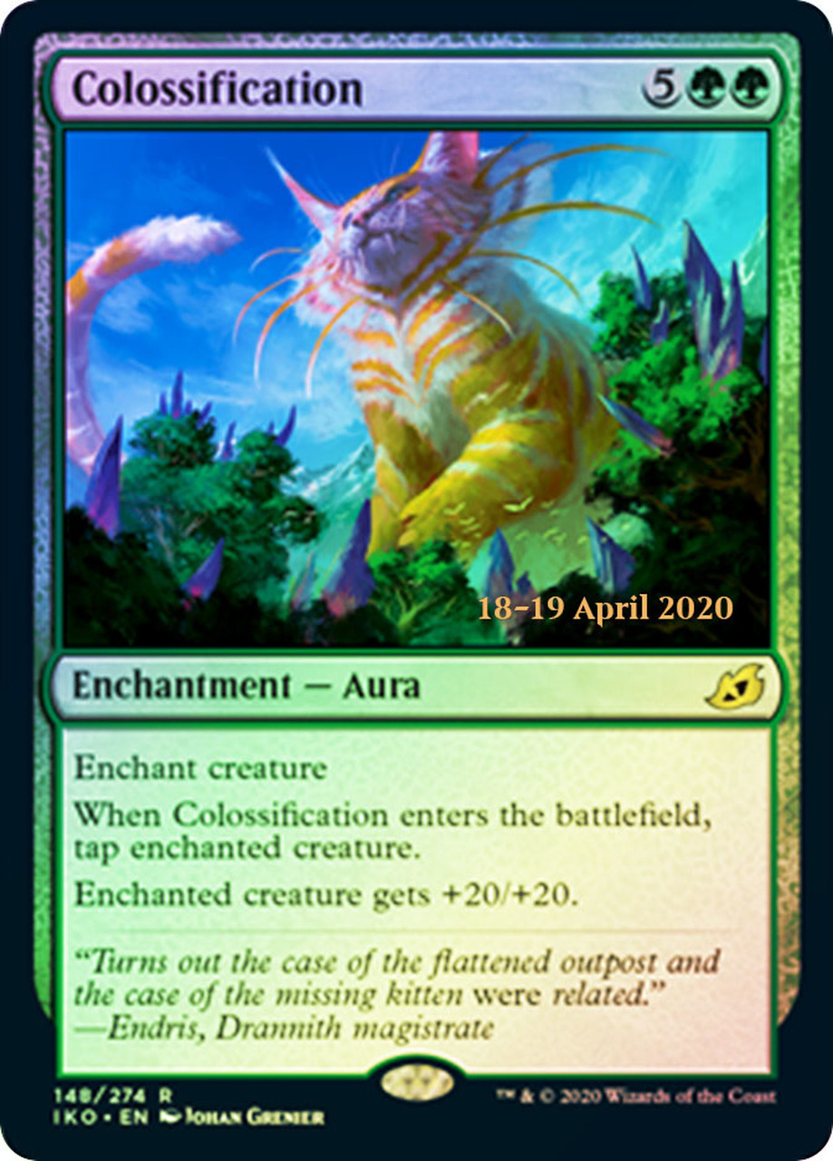 Colossification - Foil - Prerelease Promo